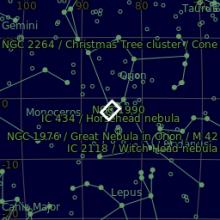 Nebulosa Teta di Cavallo B33 e Nebulosa Fiamma NGC2024
